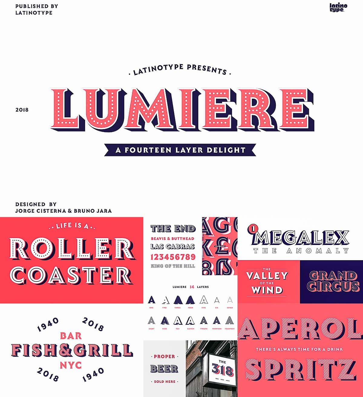 Lumiere Font Family