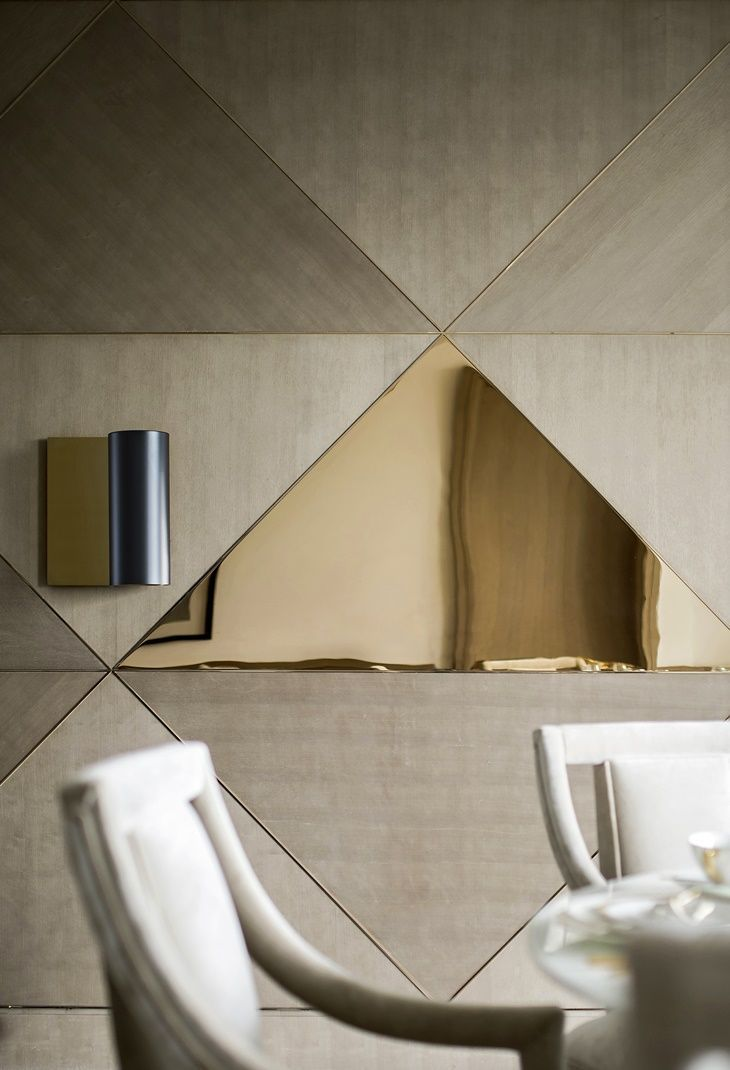 Mirror Wall Panel | Pleat Mirror | By Afroditi Krassa | Details