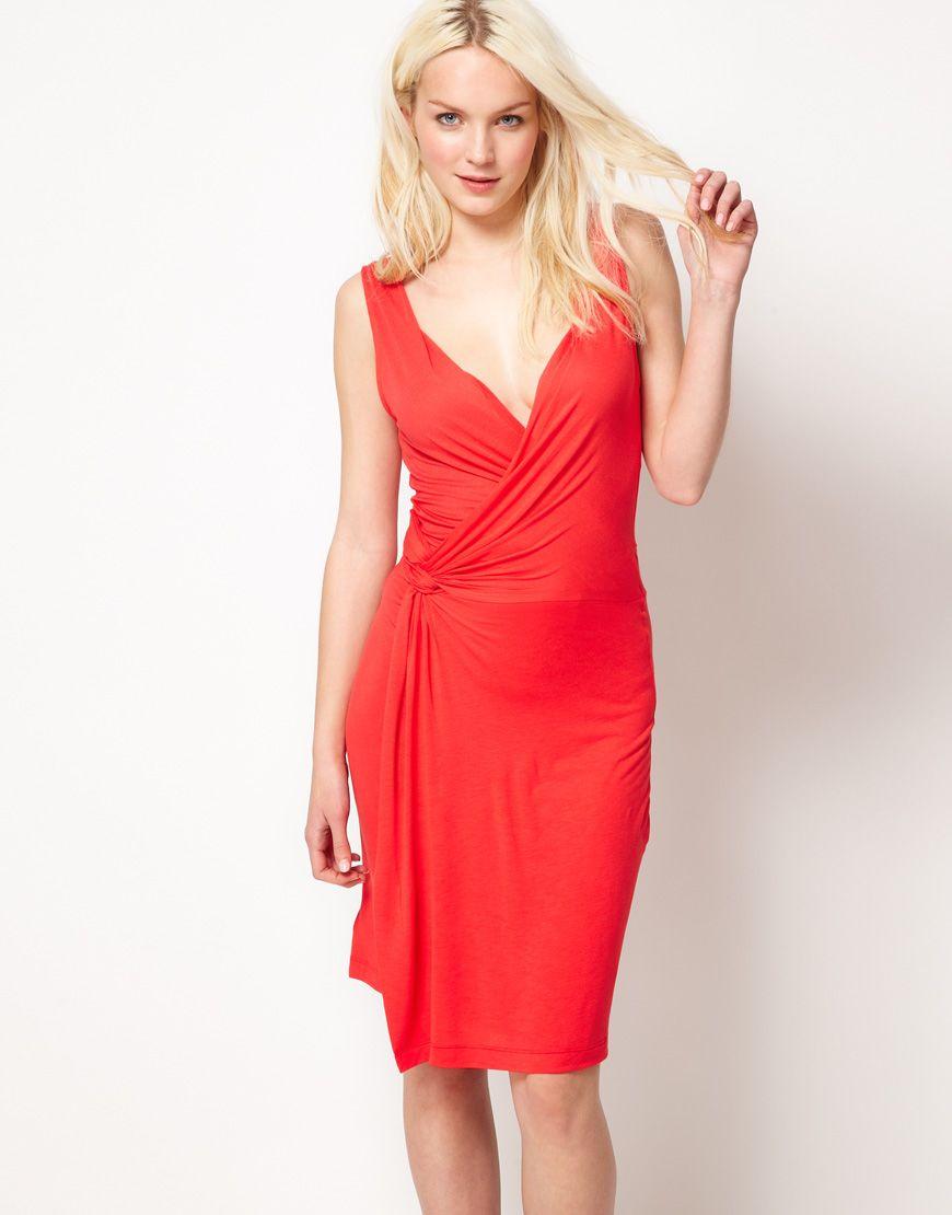 ASOS Obi Wrap Dress at asos.com | Fashion, Latest fashion clothes, Wrap dress outfit