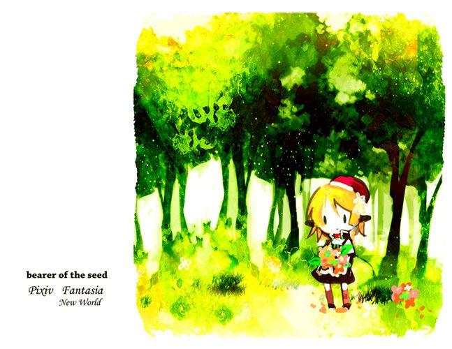 「【PFNW】種運びは根を張らない【生命の階層】」/「ゆずよもぎ」の漫画 [pixiv]