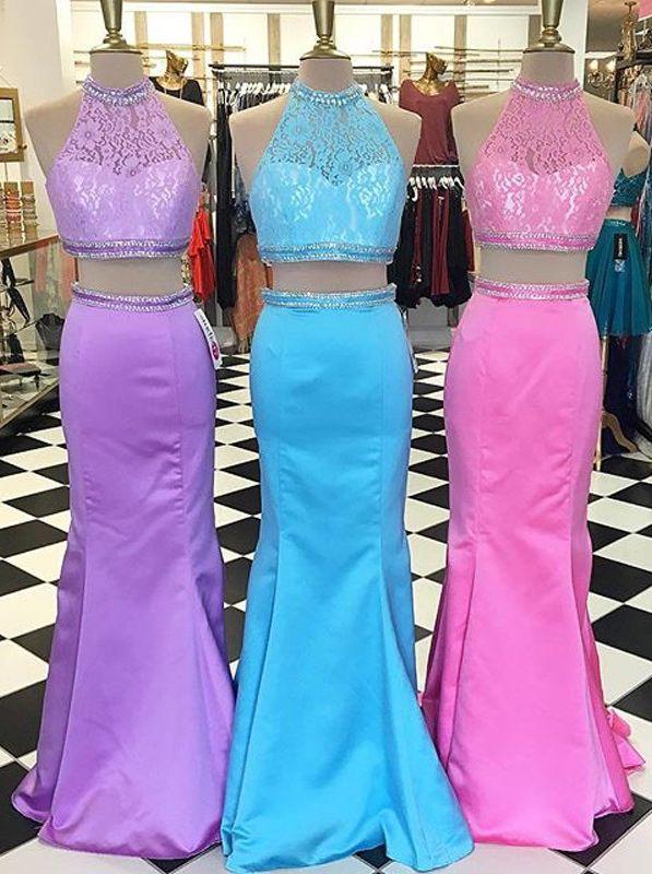 c44ce3040b119f 2 piece prom dresses, mermaid two piece prom dresses, 2 piece prom dresses  mermaid, long mermaid prom dresses, new arrival prom dresses, prom dresses  new ...
