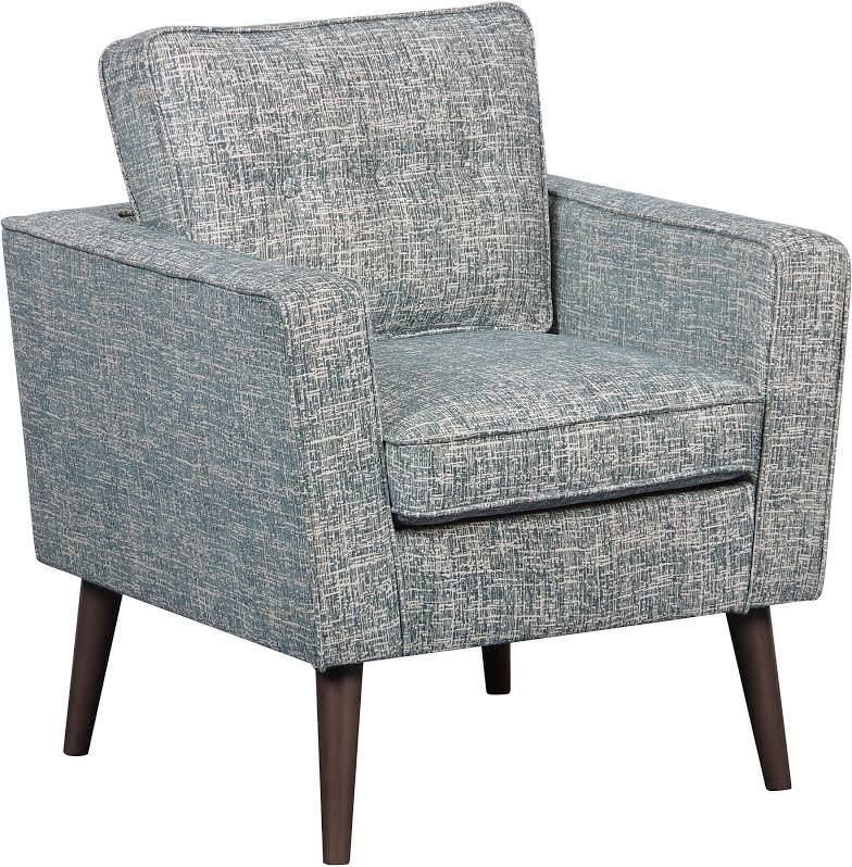 Best Mid Century Modern Accent Chair Blue Accent Chairs 400 x 300
