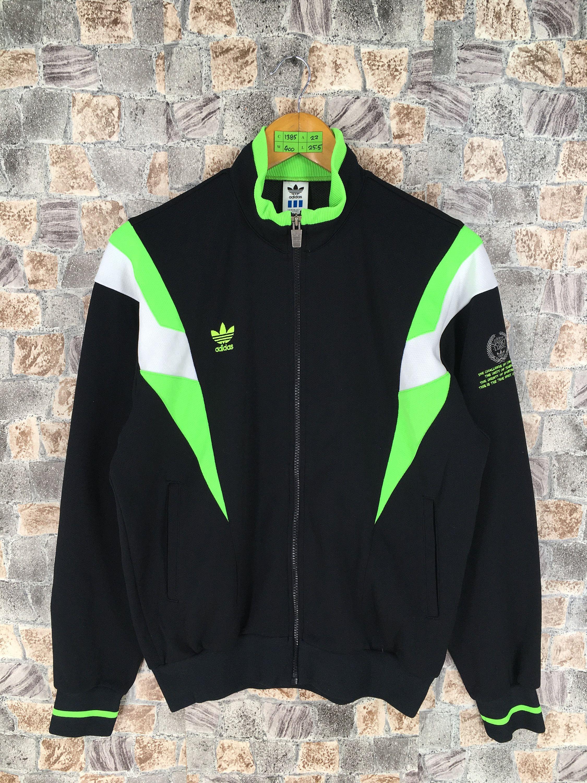 Vintage Adidas Track Jacket Medium 90 S Adidas Trefoil Etsy Casual Outerwear Tracksuit Jacket Adidas Track Jacket [ 3000 x 2250 Pixel ]