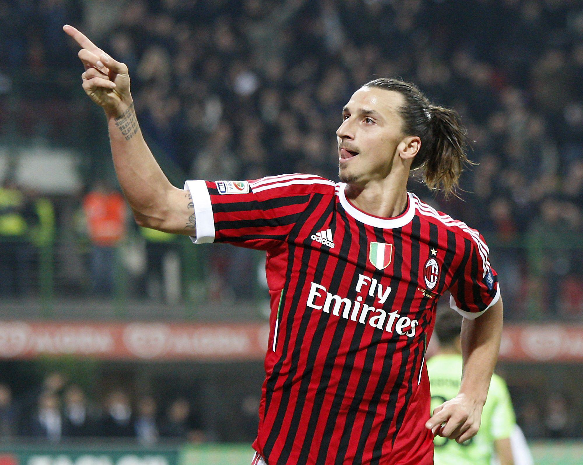 Ibrahimovic 9ine Zlatan Ibrahimovic Milan Ac Milan