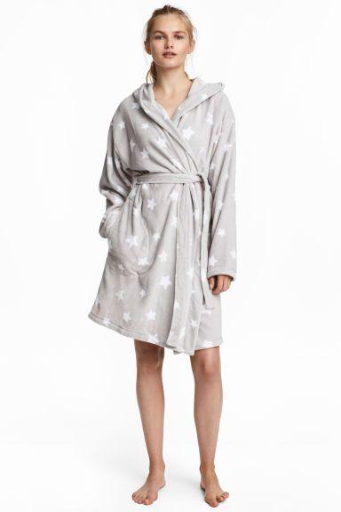 Femme Bouton par Polaire Peignoir Robe avec ceinture Sleep Wear