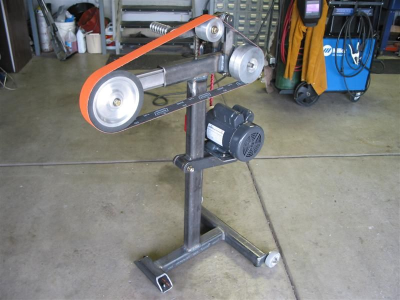 Plans for building your own belt sander pirate4x4 com for Garage de 4x4
