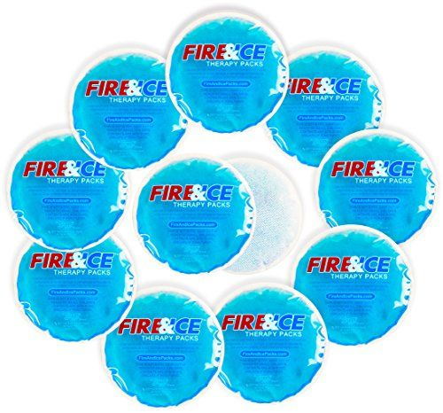 Snappy Heat Hot Cold Packs With Cloth Backing 10 Reusable Gel