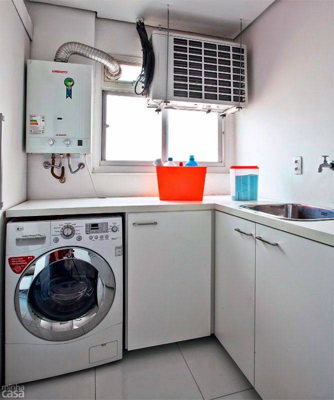 Decoraci n lavander a peque a lavander a pinterest for Lavaderos pequenos modernos