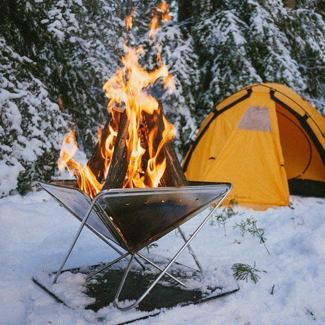 Pack Carry Fireplace Camping Camping Winter Camping Camping Gear