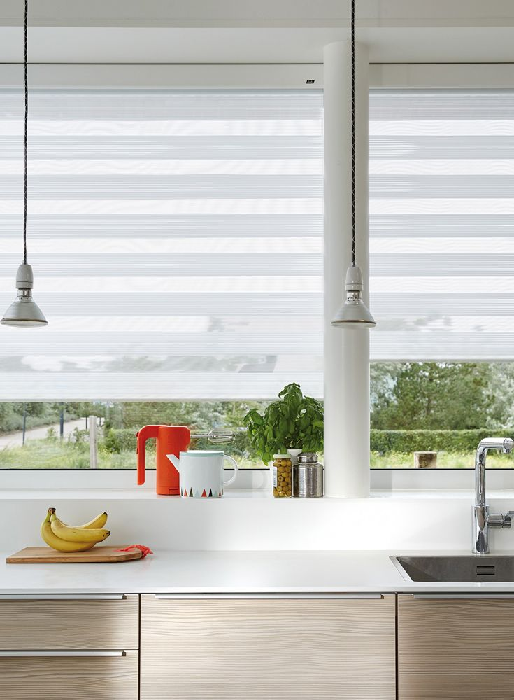 Luxaflex twist shades let just the right amount of light in the perfect