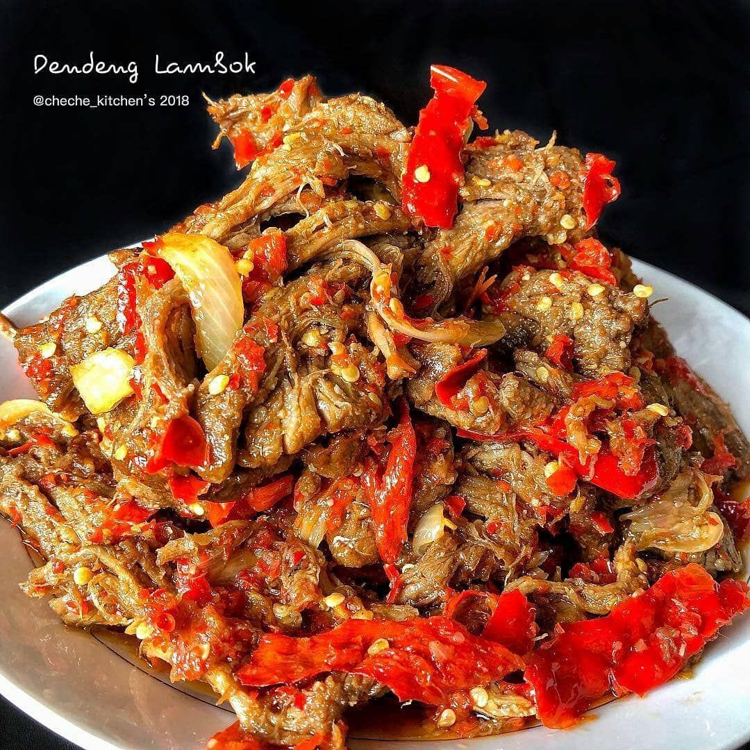 Dendeng Lambok By Cheche Kitchen Bahan Resep Masakan Resep Masakan