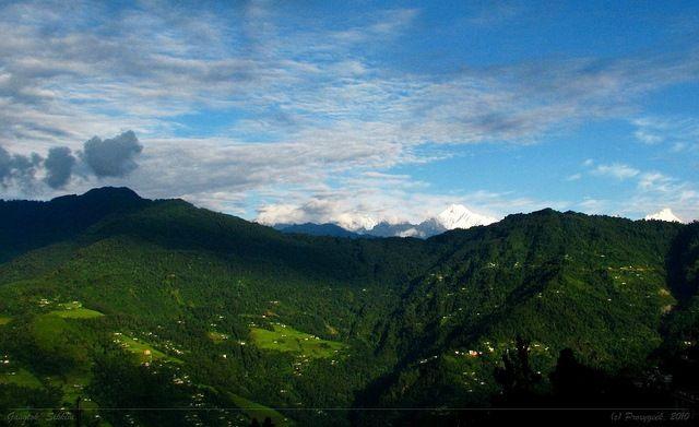 Gangtok landscape by proxygeek