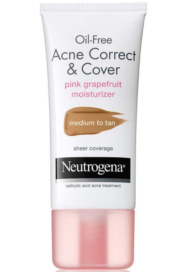 Neutrogena Oil-Free Acne Correct & Cover Pink Grapefruit