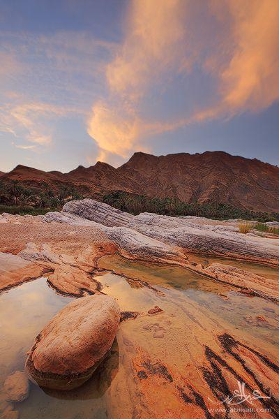 The echo of Valley, Masqat, Oman