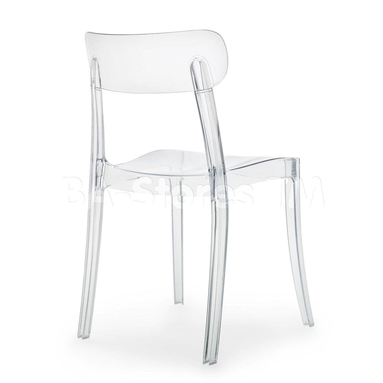 New Retro Transparent Chair By Domitalia Stoelen