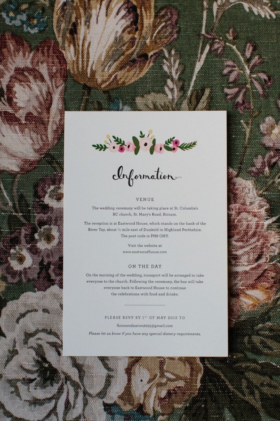 Rime Arodaky for a Relaxed, Informal, Fun and Flower-Filled Wedding ...