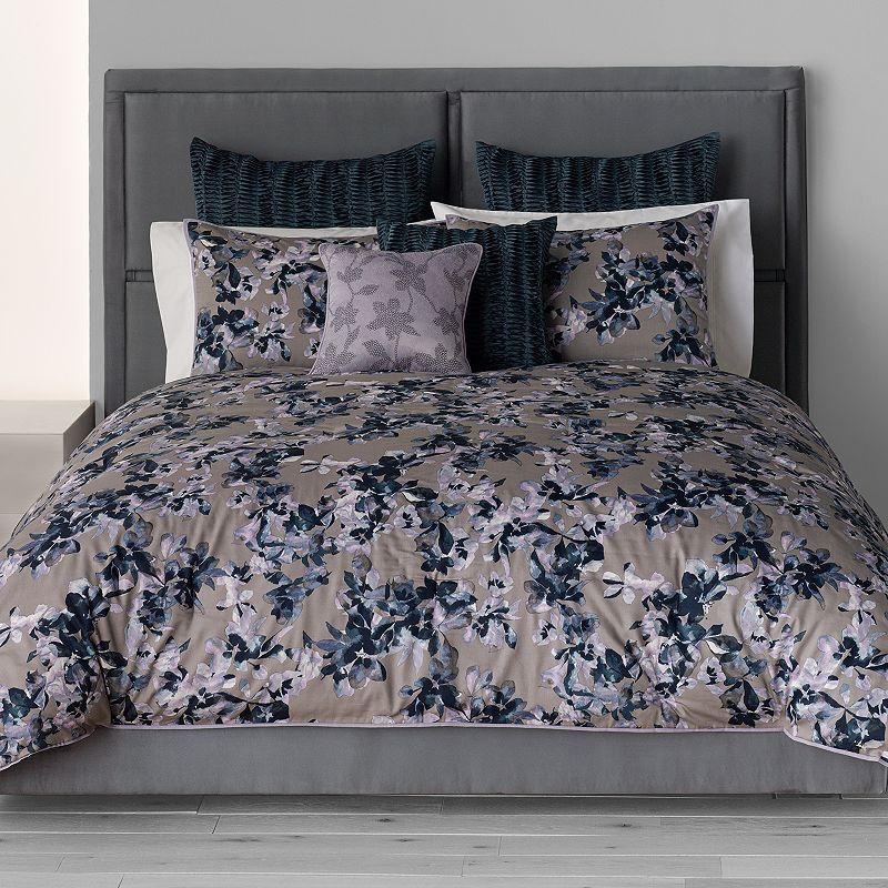 Simply Vera Vera Wang Midnight Floral 3 Pc Comforter Set Floral