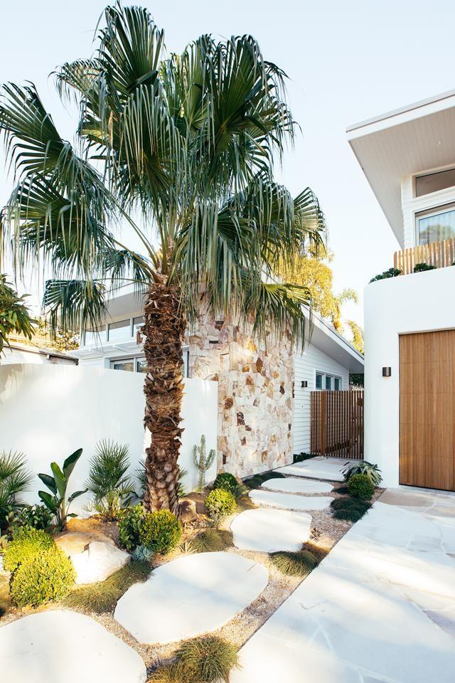 Kyal and Kara's Mediterranean-meets-coastal garden