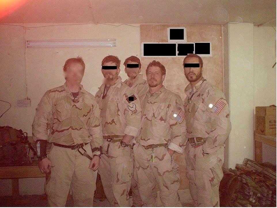 Delta Force C Squadron Operators In Iraq C 2005 962 X