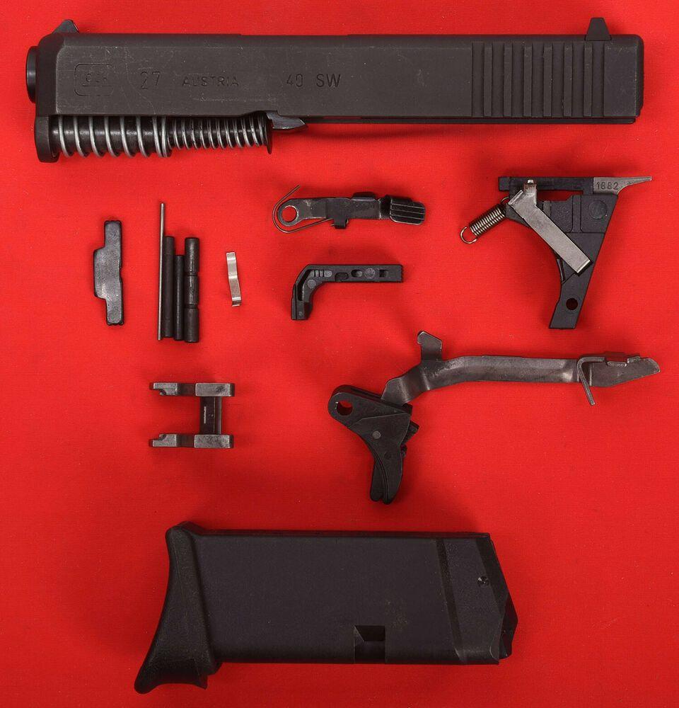 Ad(eBay) Glock 27 Gen 3 complete OEM Parts Kit + Slide