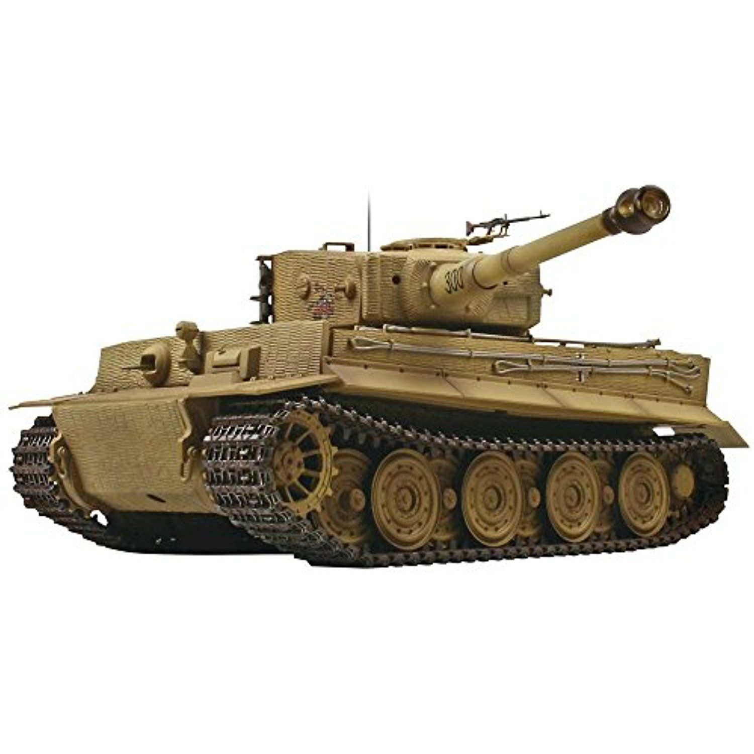 f044714c61e810 VS Tank 1 24 Scale Tiger I Electric-Powered Radio Controlled Ready-To-Run  Late Production Battle Tank with Desert Camouflage Scheme     Click on the  image ...