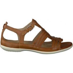 Ik vond dit op Beslist.nl: Ecco sandaal beige voor dames