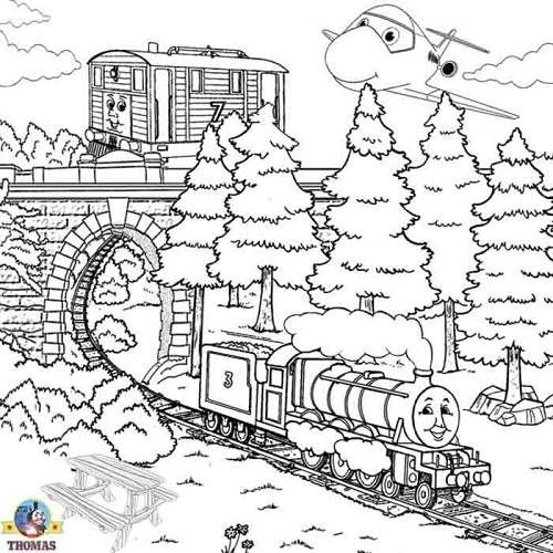 thomas train coloring pages christmas | Coloring pages | Pinterest