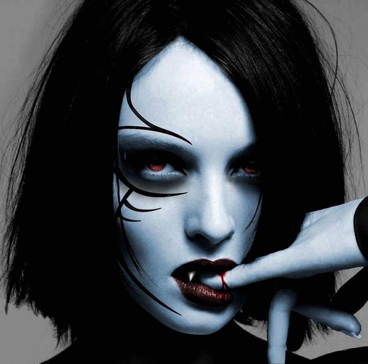 Dark Goth Makeup | MAKEUP - GOTH GIRL ☯★☮