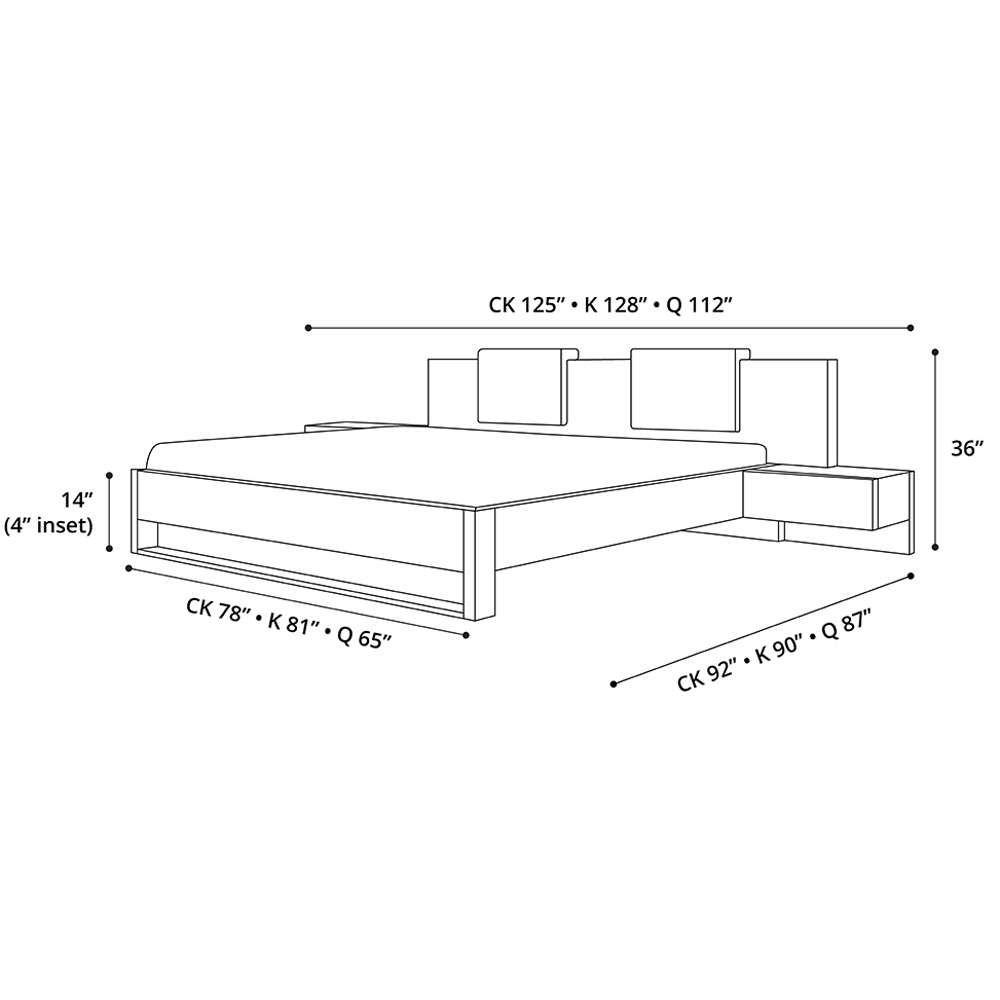 Monroe Bed | Planos de carpintería, Carpintería y Planos