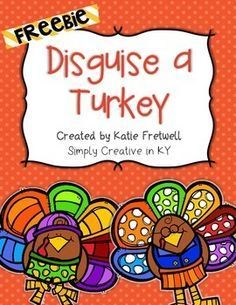 In this freebie students and families will disguise a turkey so in this freebie students and families will disguise a turkey so that it doesnt get eaten for thanksgiving included in this family project letter to maxwellsz