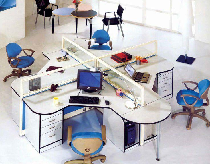 Oficinas Con Cubiculos Buscar Con Google Puestos De