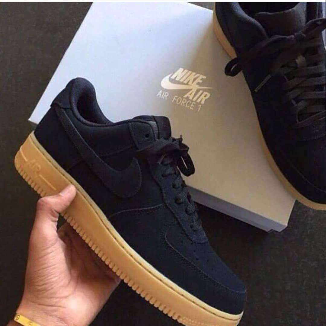 the best attitude 6074b 41c4b Nike air force black purple or brown   Follow  hypedstreat