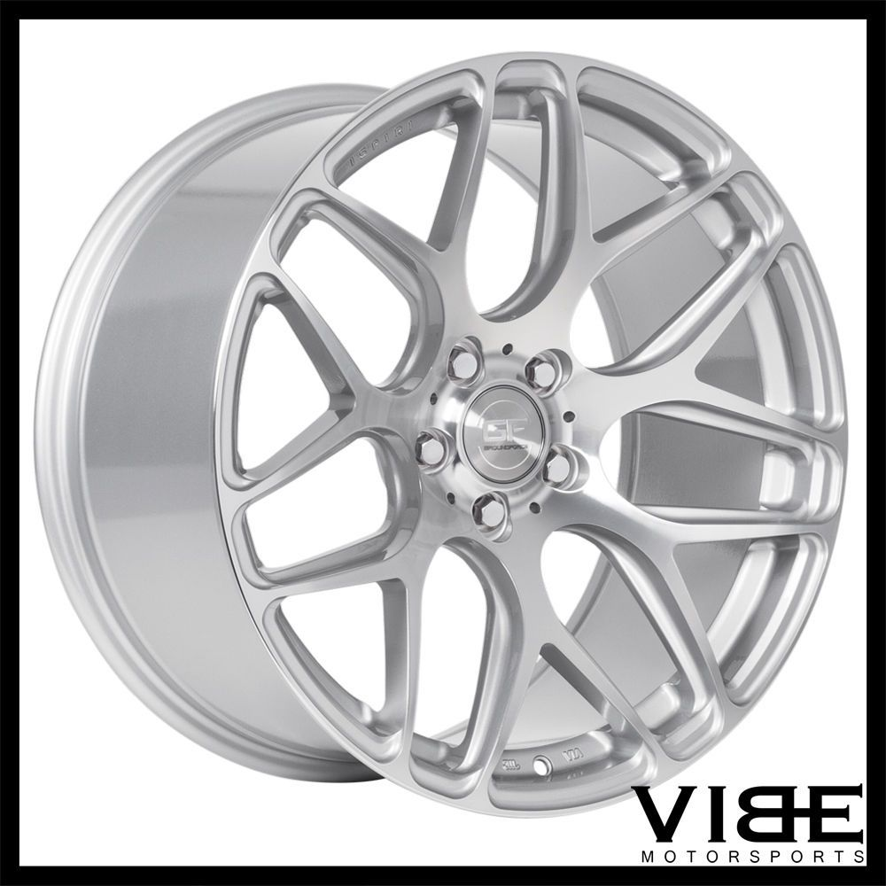 "Details About 19"" MRR GROUND FORCE GF9 SILVER CONCAVE"