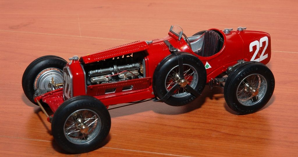 Alfa Romeo P3 Targa Florio Scuderia Ferrari Modello