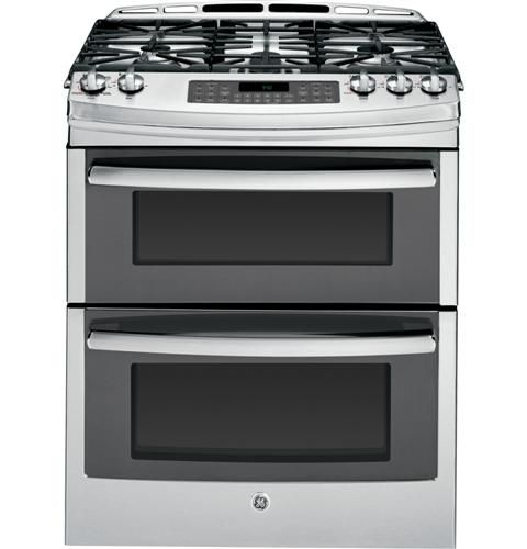 Dual gas oven