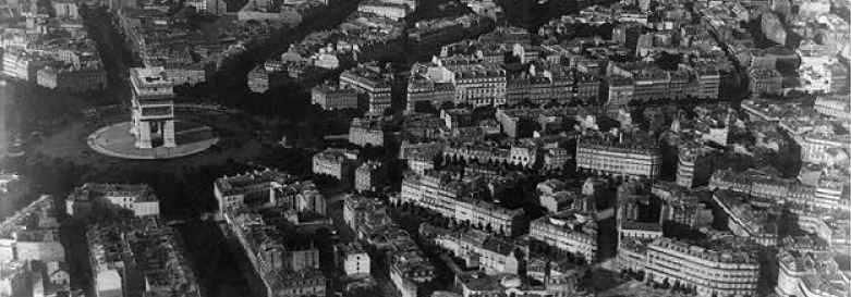 Nadar Aerial View of Paris 1867 (With images) | Aerial photography ...