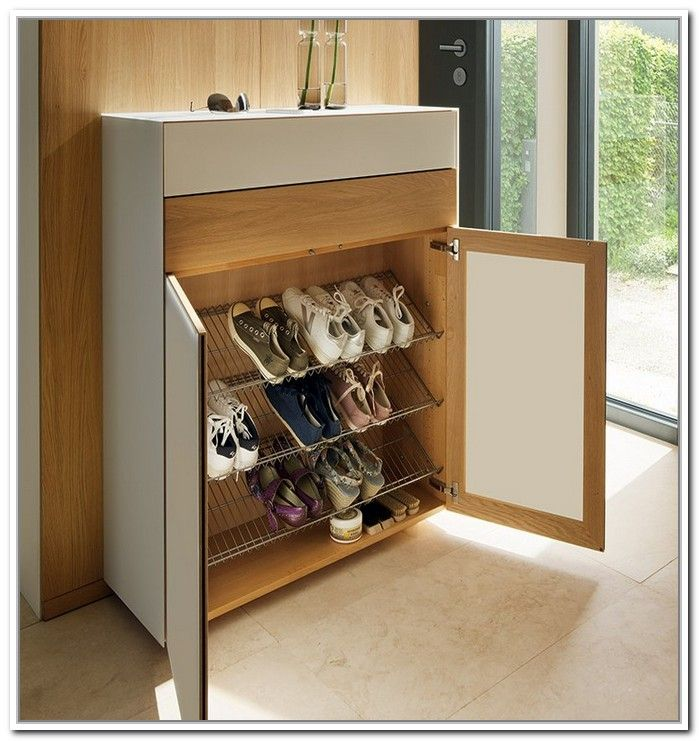 Awesome Hall Table with Shoe Storage