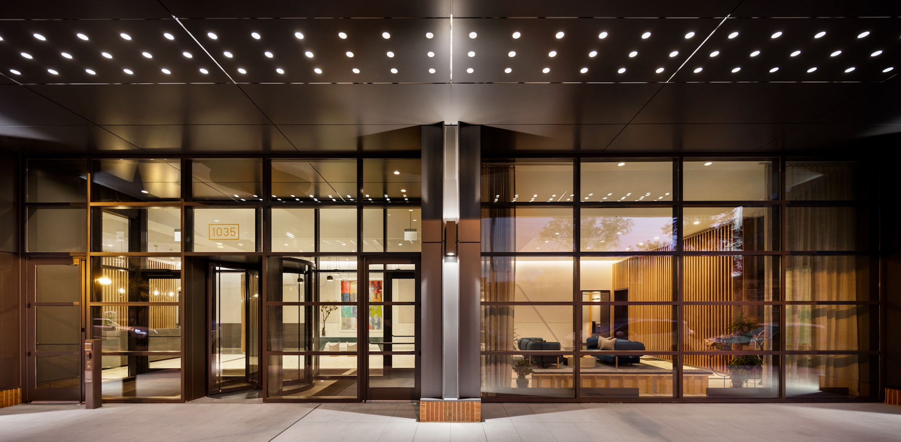 A Look Inside Landmark The West Loop S Newest Apartment Tower Apartment Architect Modern Exterior
