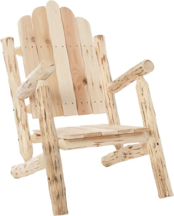 DIY Log Furniture Kits | Ron | Log furniture, Furniture ...