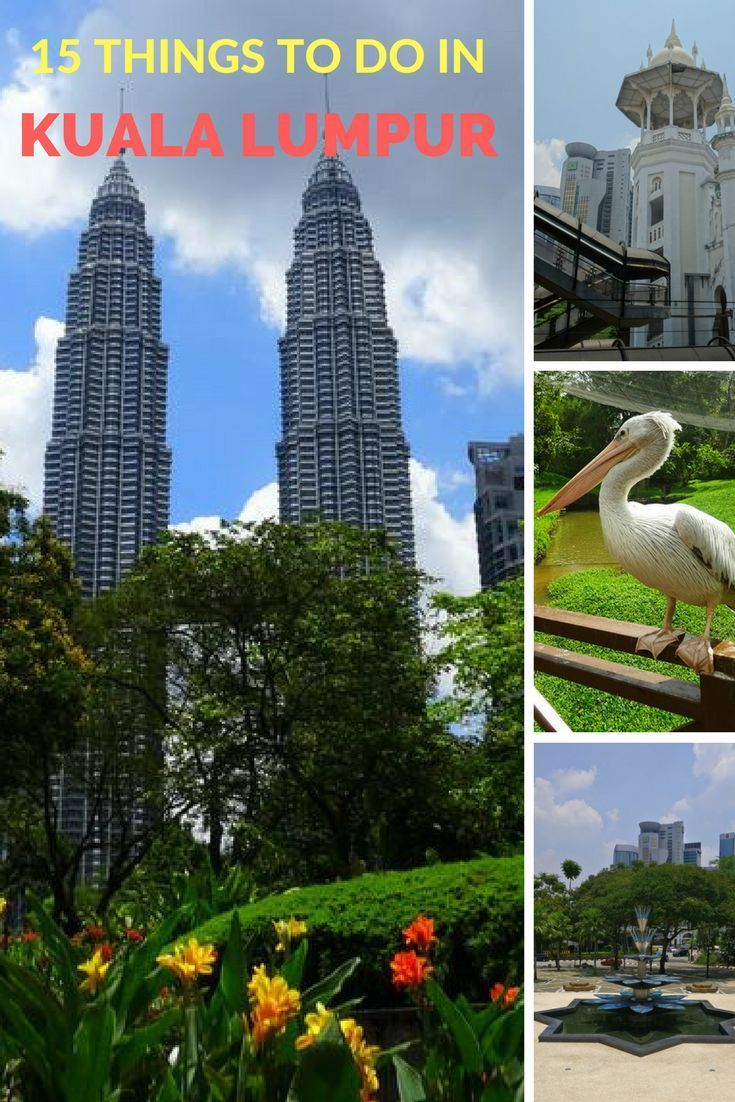 15 fun things to do in Kuala Lumpur in 3 days | Fun things to do. Cool places to visit. Travel inspiration destinations