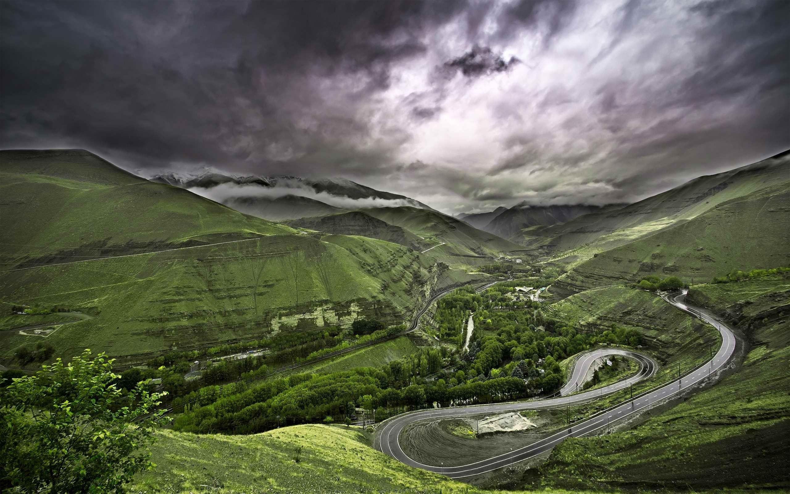Charlus Iran Iran Travel Beautiful Roads Nature