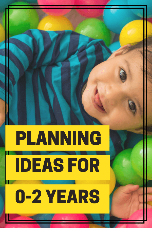 How to Plan for Playful Learning with Toddlers and Babies. The Empowered Educator shows early child