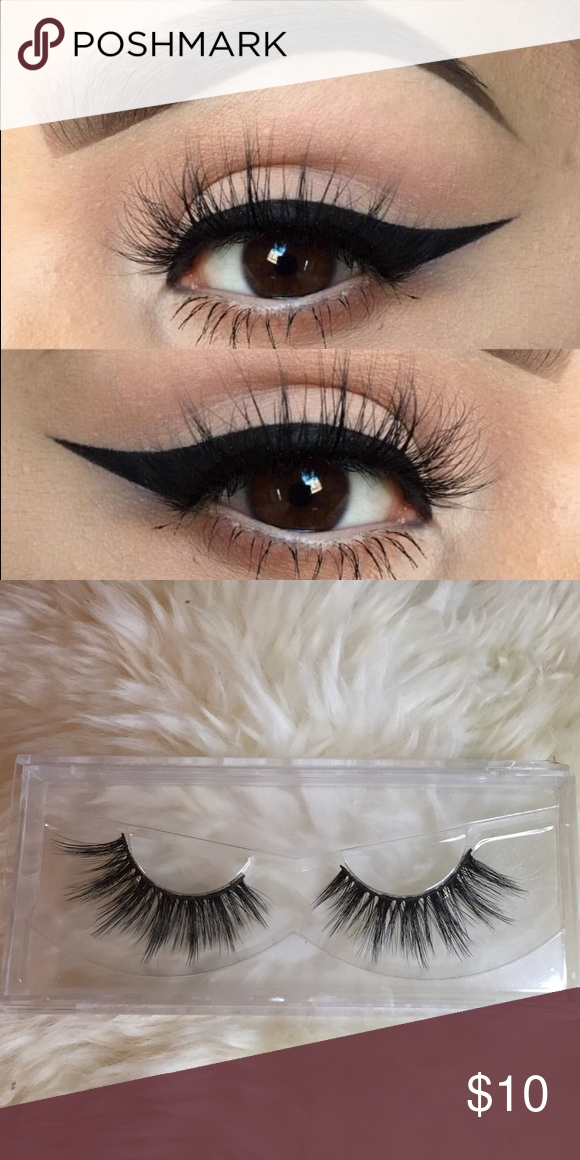 Fluffy Lashes Beautiful Flare Lashes And Very Wispy This Listing Is