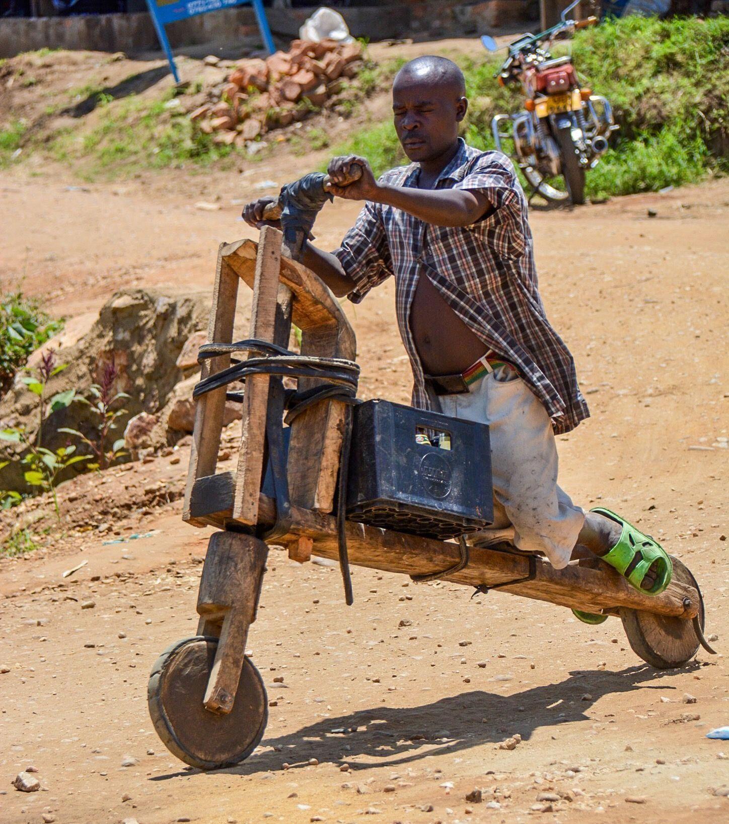 Homemade bicycle from uganda bicyclememes bicyclerepair
