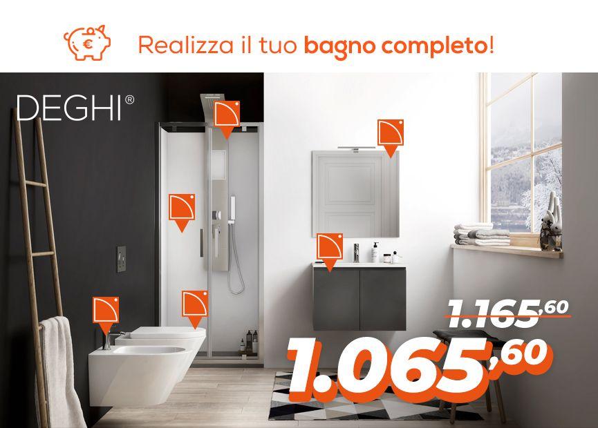 bagno completo offerta | Pulizia | Bathroom, Toilet e Bathtub