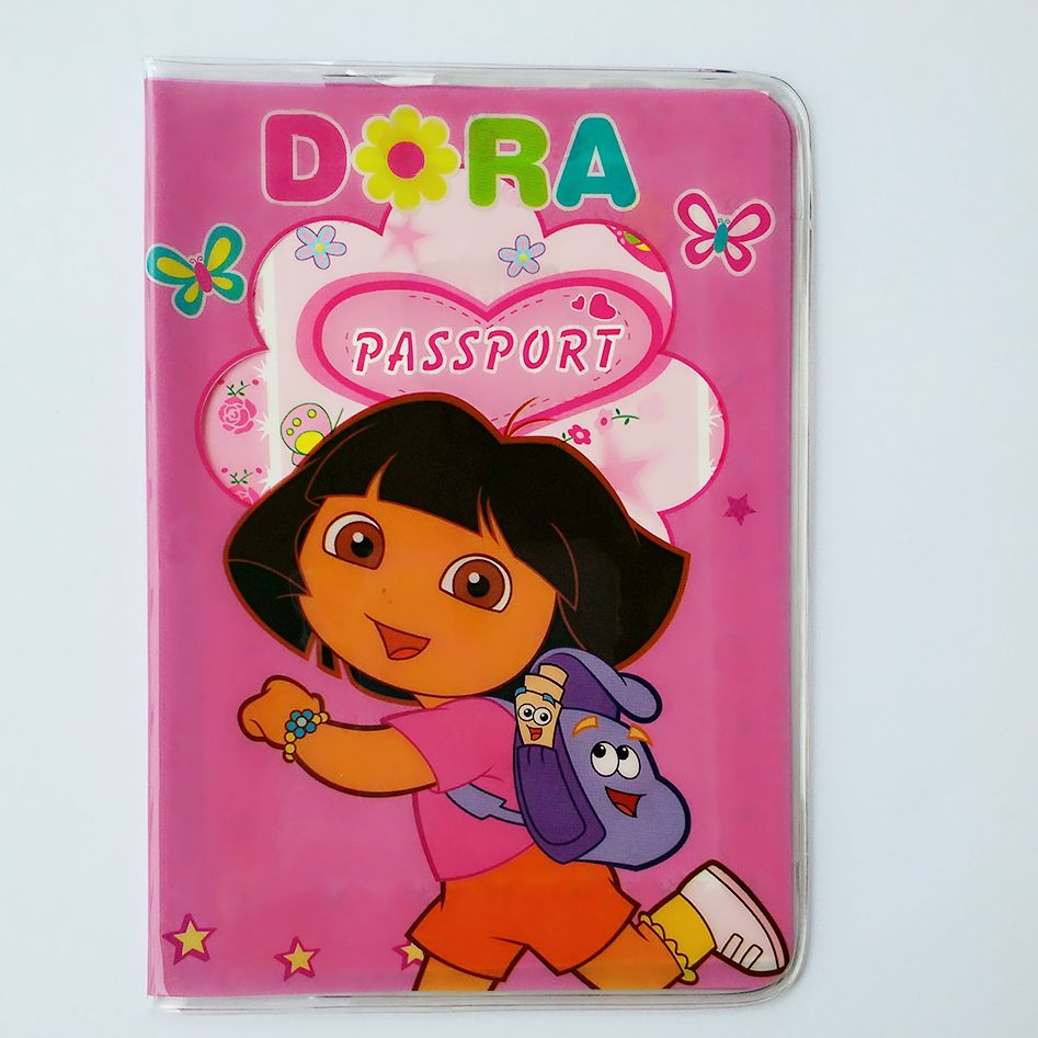 ForeverFriendsDora letter envelope Card Holder Passport Cover PVC ...