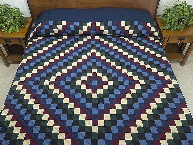 photo of Amish Sunshine and Shadow Quilt | Quilts | Pinterest ... : sunshine and shadows quilt pattern - Adamdwight.com