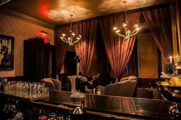 Raines Law Room Bar Bar Restaurant Interior Victorian Living Room Speakeasy