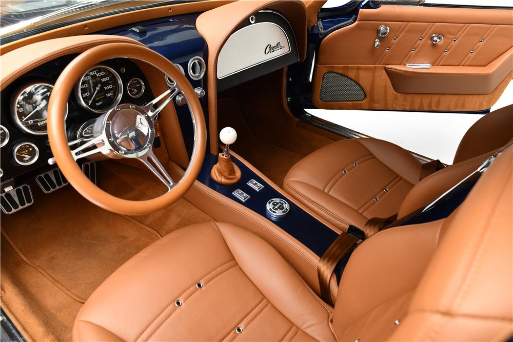 1963 Chevrolet Corvette Custom Split Window Coupe Interior 224500 Chevrolet Corvette Classic Corvette Corvette Stingray