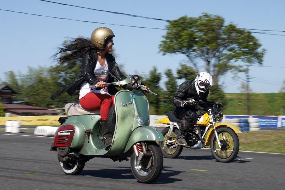今日イチショット超良い #サンデーチョップチキンレース#sundaychopchickenrace#sccr#vespa#連投すいません by icchome0828